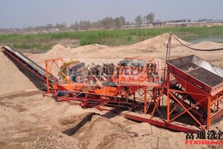 轮斗式洗沙机PK螺旋式洗砂机
