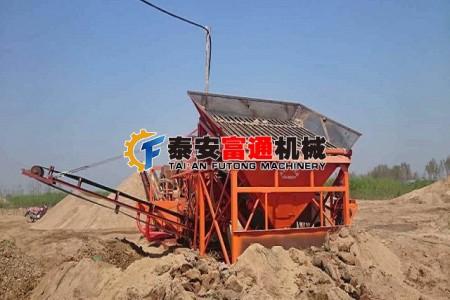 富通制砂洗沙机设备特点鲜明、构造合理