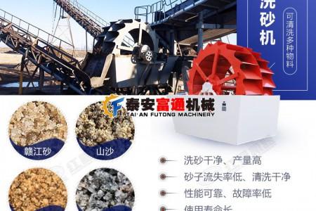 矿山制沙生产线为什么要用洗沙机?
