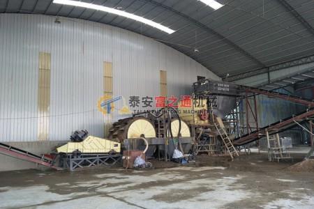 济宁客户制砂生产线展示